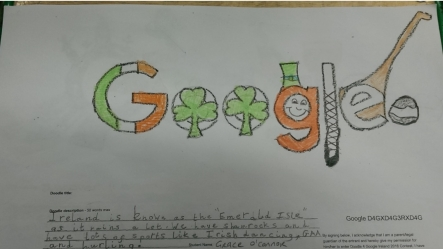 doodle 4 google ms fogarty s 2nd class 2015 2016